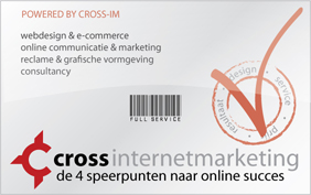 Webdesign, communicatie en optimalisatie website door Cross Internet Marketing